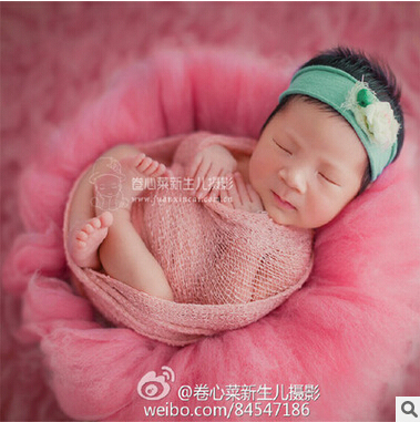100g pc diameter of 60 cm newborn photo prop sale basket filler loose wool fluff basket stuffer newborn photography prop in blanket swaddling from mother