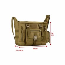 New Outdoors Tas Taktik Militer ACU CP Kamuflase Army Mountaineer Travel Duffel Messenger Tas Hitam Pria Tas Camp W2(China)