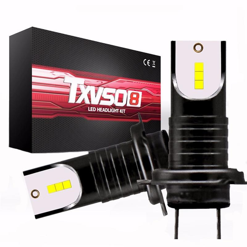 2 stücke H7 LED Scheinwerfer-birnen Conversion Kit CSP Chips 30000LM 50 watt 9005 9006 Auto Scheinwerfer Lampe Auto Licht h11 6000 karat 12 v 24 v