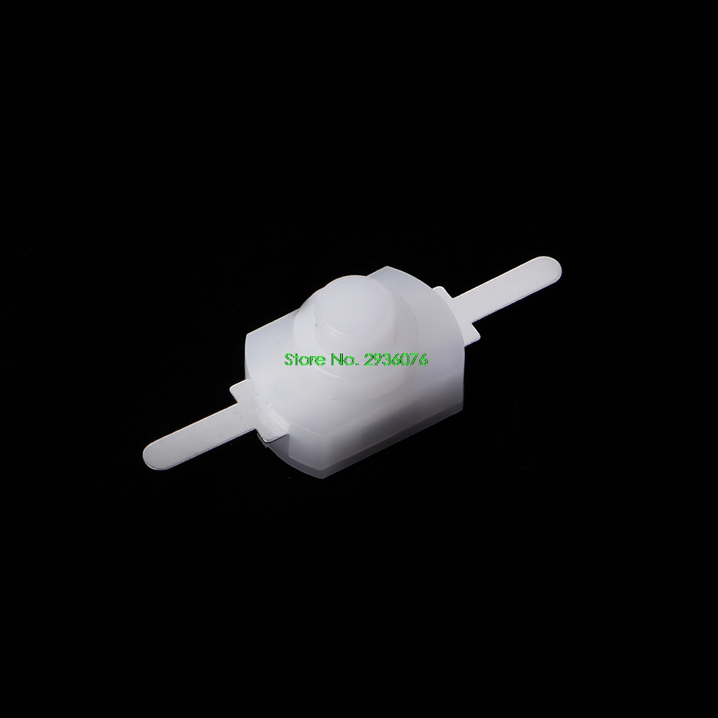 10 Pcs DC Latching Push Button Switch On Off For Torch Flashlight Light Lamp Wall Outlet Drop Shipping Support