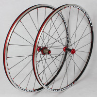 MEROCA 700C Carbon Fiber Road Bicycle Wheels Rim Drum 6 Claws 120 ring Sealed Bearing Wheels Racing wheelset Rims