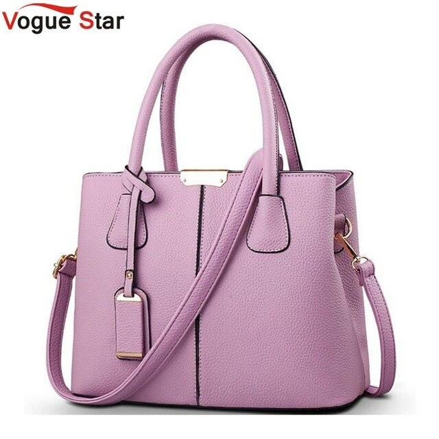 69b726eacd Vogue Star femmes sac à main 2019 nouveauté PU cuir robe sacs à main de  haute qualité Messenger sacs pour femmes sacs à bandoulière LA102