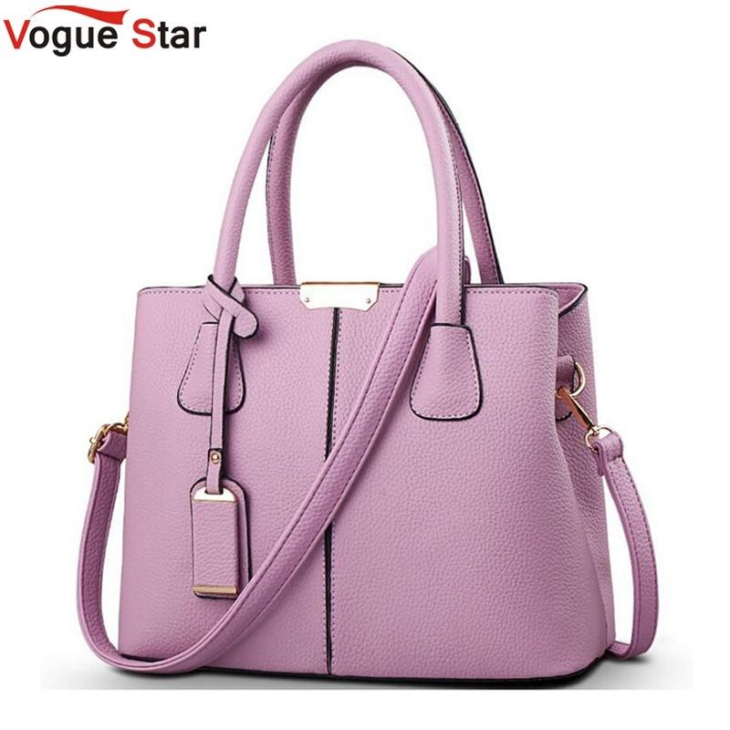 Vogue Star Women Handbag 2019 New Arrival PU Leather Dress Handbags High Quality Messenger Bags For Women Shoulder Bags LA102