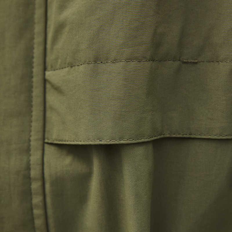 2019 Весна Осень Новые повседневные пальто ветровка средней длины Тренч женское тонкое приталенное пальто женская верхняя одежда AN019