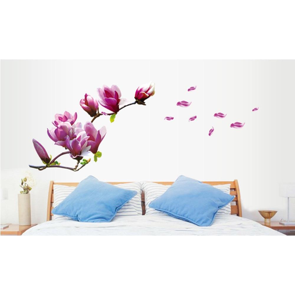 Online kopen wholesale magnolia muurstickers uit china magnolia ...