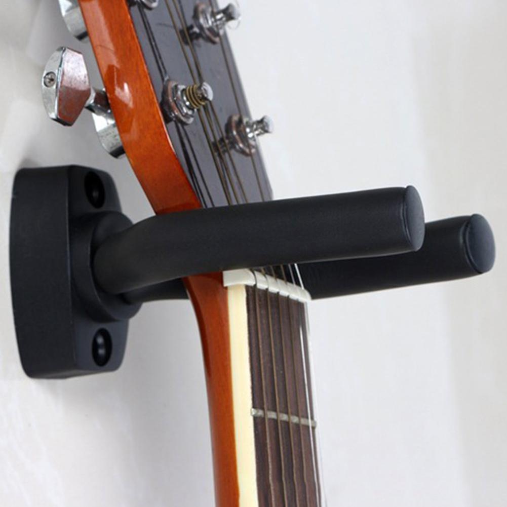 Durable Suporte Montagem Na Parede Suporte De Guitarra Guitarra Guitarra Gancho Cabide Gancho para Guitarras Baixo Ukulele Cordas Acessórios Para Instrumentos 1