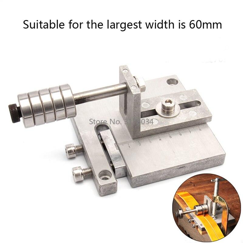 Adjustable Leather Craft Metal Cutter Strap Belt DIY Hand Cutting Tools Strip Cutter Hand Cut Machine-1