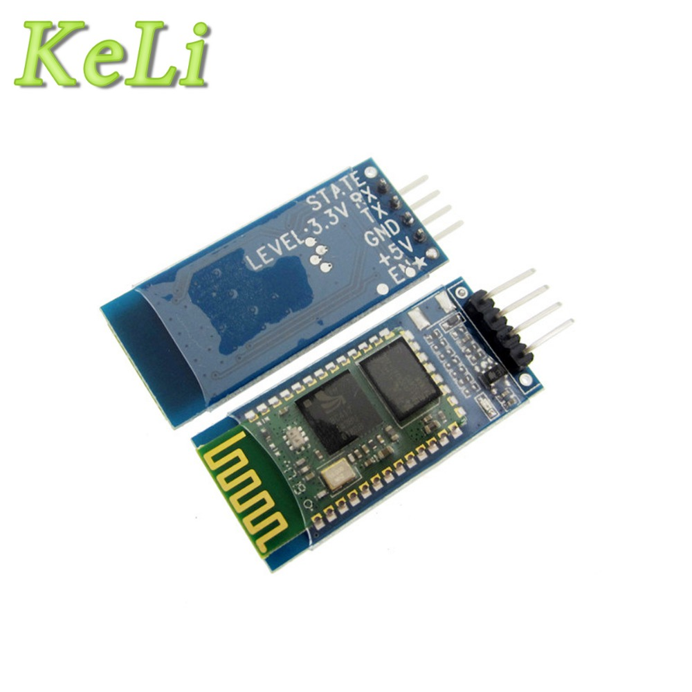 1pcs hc-06 HC 06 RF Wireless Bluetooth Transceiver Slave Module RS232 / TTL to UART converter and adapter free shipping 5pcs serial rs232 ttl hc 05 30ft wireless bluetooth rf transceiver module 2 in 1