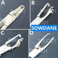 1 Piece Dental Orthodontic invisalign plier Cylinder Forming Undercut Forming Plier Instrument