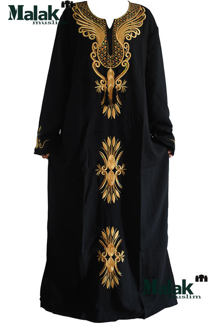 Kaftan Jilbabs Und Islamischen Stickerei Kleidung Frauen Islamischen ...