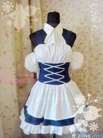 New Anime Chobits Chii Cosplay Gothic Lolita Home Maid Dress Costume S L Or Custom Made