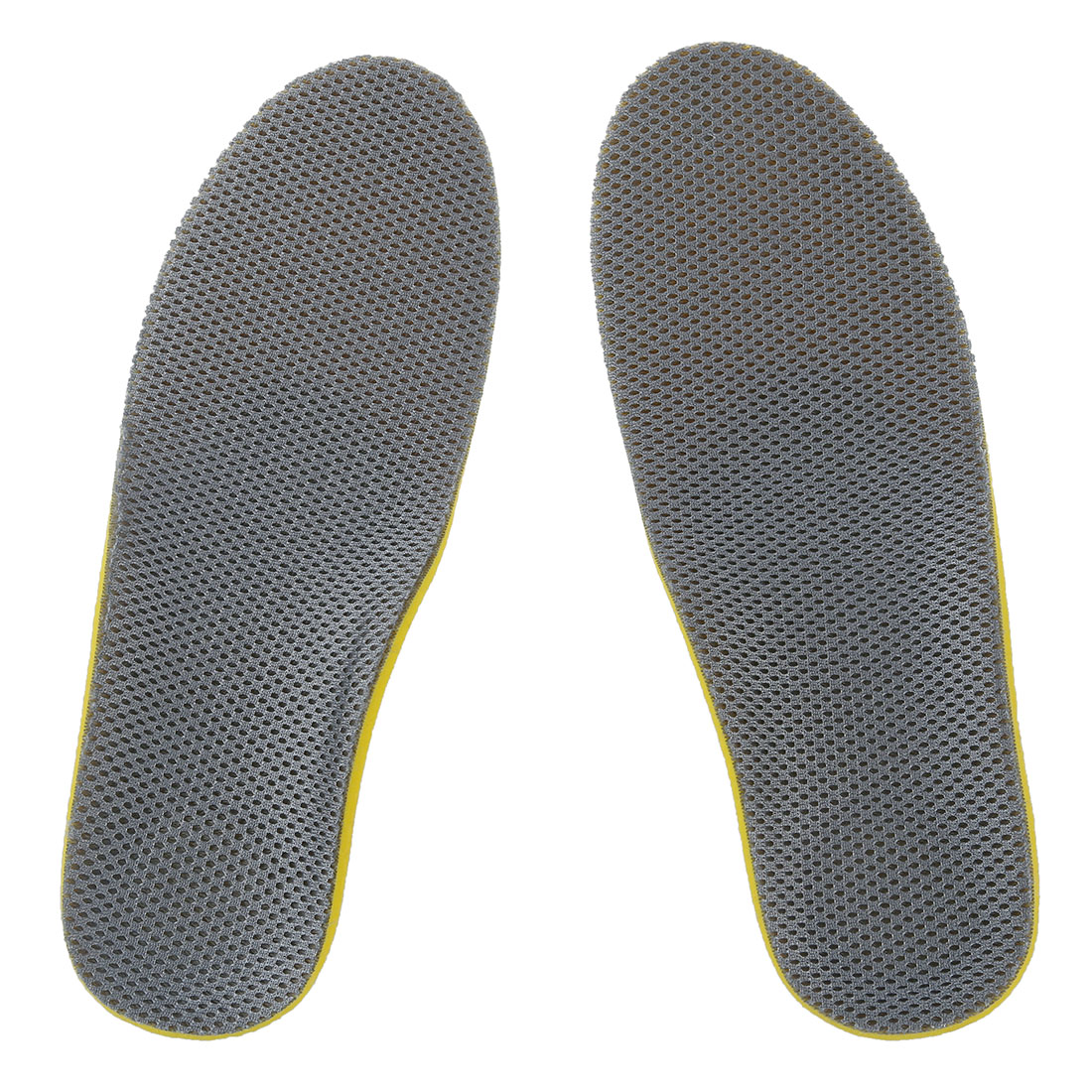 2018 Hot StyleComfortable Orthotic Shoes Insoles Inserts High Arch Support Pad (S) yellow+Gray expfoot orthotic arch support shoe pad orthopedic insoles pu insoles for shoes breathable foot pads massage sport insole 045