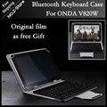 Para ONDA V80plus Teclado Bluetooth Caso 8 Polegada Tablet Bluetooth Teclado caso Para onda v820w Freeshipping + proteção de Tela