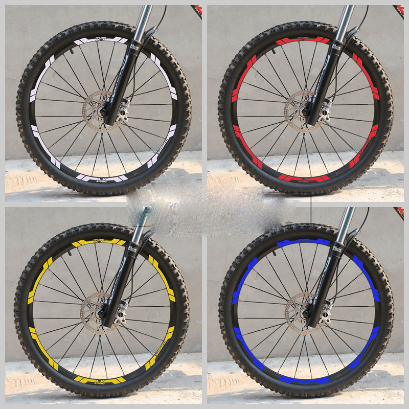 SHIMANO XT 776 Wheel Rim Stickers/decals Of Mountain Bike/bicycle Rim Decals For MTB Free Shipping