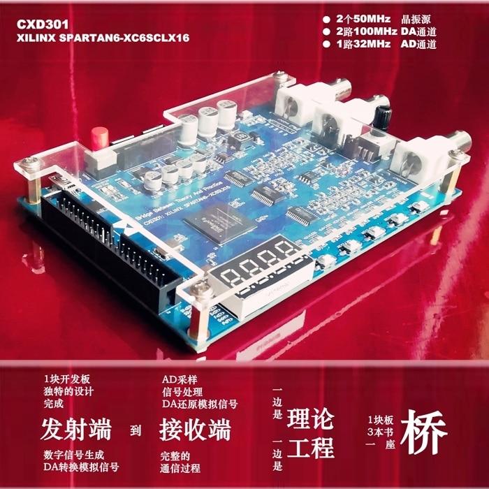 Digital Signal Processing Development Board Cxd301 Xilinx/Spartan6 Xc6slx16 Based On Fpga