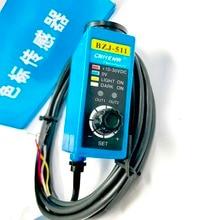 Free shipping 2pcs/lot Color sensor BZJ-511 bag maker tracking electronic eye rectifying sensor green light source цены