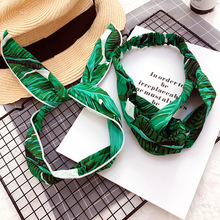 Korea Colorful Cloth Headbands For Girls Bunny Hairbands Women Forest Hair Bows Accessories -4