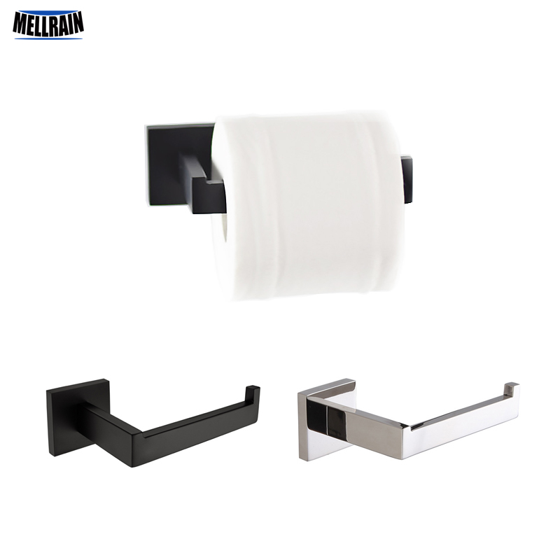 Buy black and chrome brief square toilet paper holder bathroom accessories for Black and chrome bathroom accessories