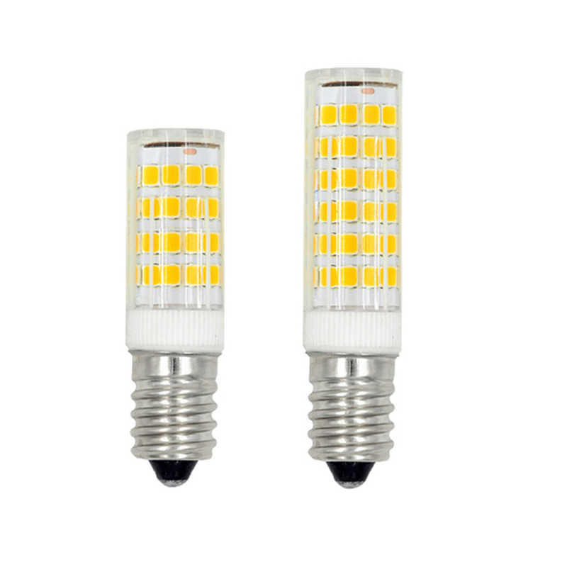 1-10Pcs E14 LED Light Bulb 5W 7W 9W 12W 15W AC220V 230V SMD2835 Ceramic Lamp replace Halogen for Crystal Chandelier refrigerator