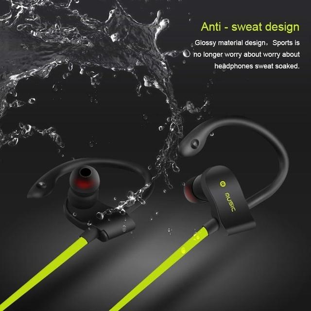 Sweat proof Sports Bluetooth Headphones
