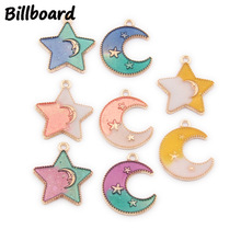 Charms for Jewelry Making Floating Charms Enamel Charms Zinc Alloy Sun Moon & Stars 10pcs/bag charms for jewelry making floating charms enamel charms zinc alloy sun moon