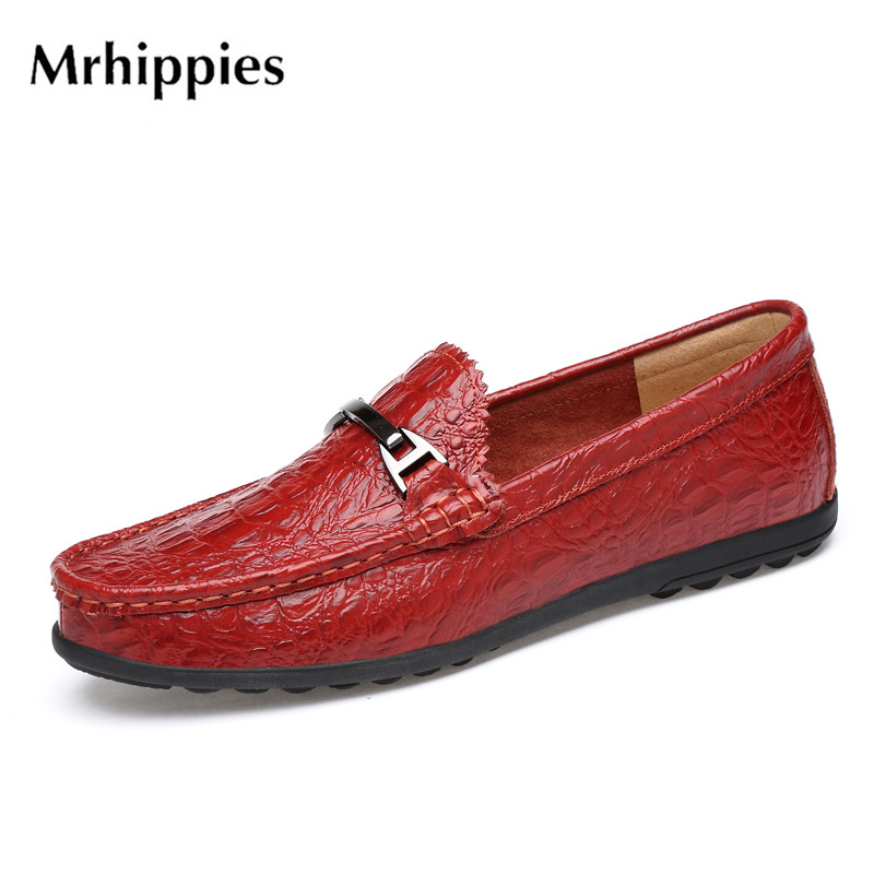 mrhippies 2017 Summer Luxury Driving Breathable Genuine Leather Flats Loafers Men Shoes Casual Fashion Slip On Size 37-46 #x8175 big size 39 48 men flats summer genuine leather loafers breathable driving shoes moccasines slip on male casual shoes xk032808