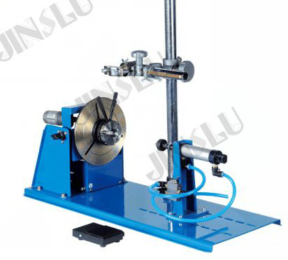 BY-10T mini welding positioner welding rotator 220V with K01-65 3 jaws lathe chucks and torch holder  цены
