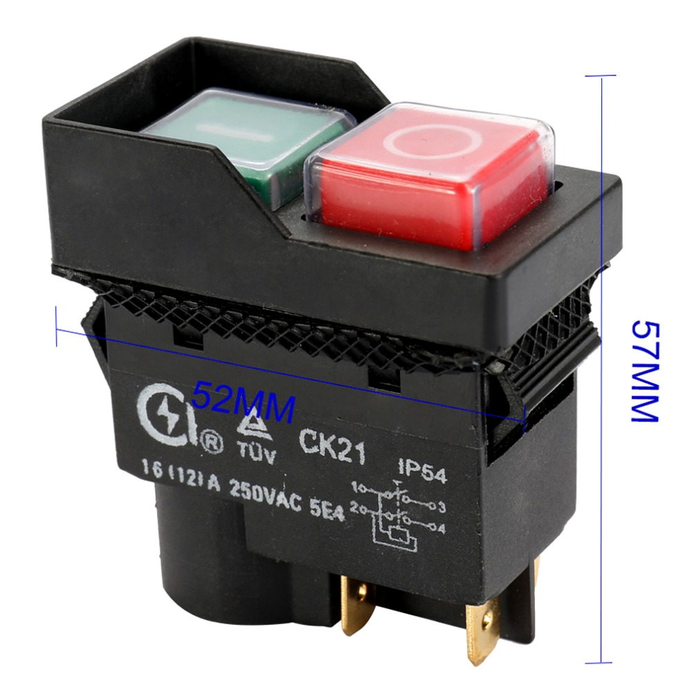 CK21 4Pin 5Pin Pushbutton Switches 8