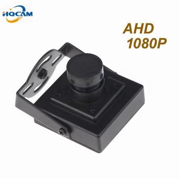 HQCAM 1080P Mini AHD camera 2000TVL 2.0megapixel AHD Camera CCTV security camera indoor AHD mini camera ahd Indoor Metal цена 2017