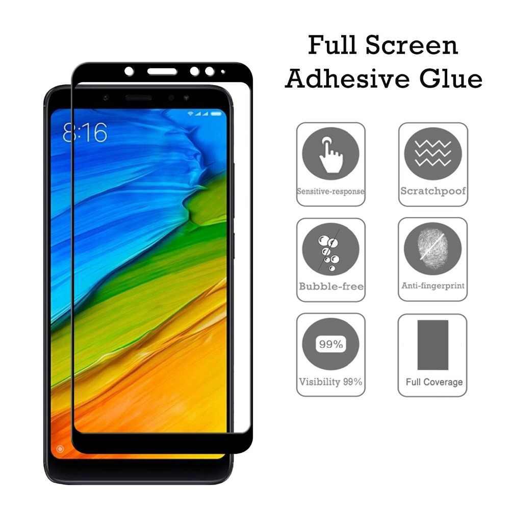 Protecteur d'écran pour Xiaomi Redmi Note 5a Prime verre trempé sur pour Xiaomi Redmi 5 Plus verre Xaomi Redm Note 5 Pro Note5 Film