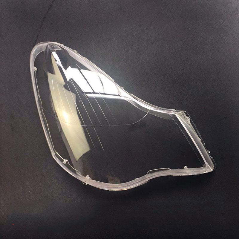 Pour Nissan Sylphy 2006-2011 phare verre phare abat-jour coque transparente abat-jour 1 paire lentille lampe couverture 2