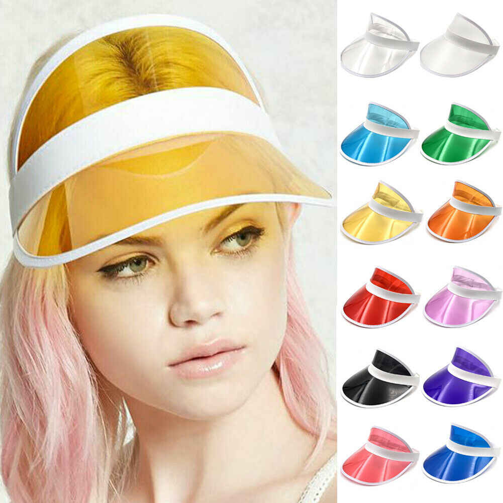 65a8f2a3 Detail Feedback Questions about 12Colors Visors Unisex Neon Visor Hat  Headband Sun Cap Golf Party Sport Tennis Hat Sunscreen Cap on  Aliexpress.com | alibaba ...
