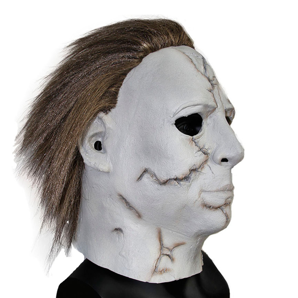 aliexpresscom buy x merry toy latex mask rob zombies halloween mask on big sale michael myers adult mask one size free shipping from reliable halloween - Rob Zombie Halloween Mask For Sale
