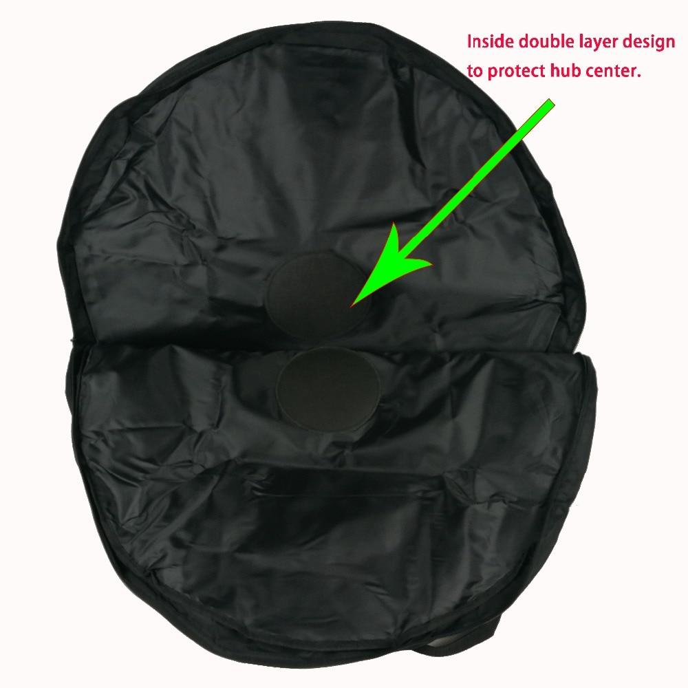 Double roues sac pour carbone vélo de route/VTT roues ou jantes VTT vélo roues sacs pas cher prix 2 roues sac pour vente