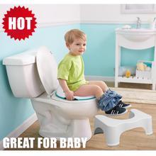 50% OFF Deluxe Baby Boy Girl Pregnant Women Ergonomic Design Squatty Toilet Stool Potty Original $24.95
