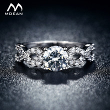 wedding Rings for women White Gold Color jewelry luxury vintage bague for lady zirconia Accessories bijouterie MSR099