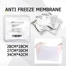 100% etkisi yeni varış düşük fiyat Anti dondurma membran 27*30cm 34*42cm 28*28cm antifriz membran Cryo Pad için cryo terapi