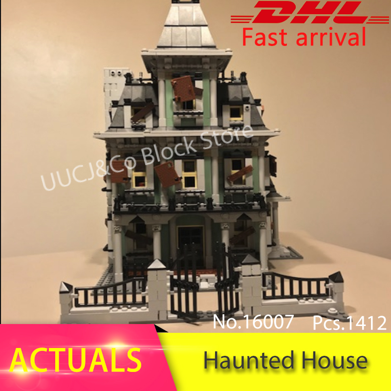 LEPIN Movie 16007 Monster fighter the haunted house Model Building Blocks Bricks Children Educational Toys Christmas 10228 Gift the monster next door