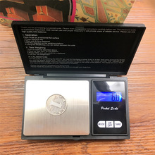 100g 200g 500g Pocket Scale for Hookah Shisha Chicha Water Pipe Glass Bong Tobacco Pipe Herb Weed Grinder