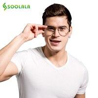 Retro Memory Metal Frames Aviator Reading Glasses For Men And Women Custom Strengths 1 0 1