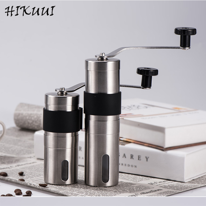 HIKUUI 1PC Manual Coffee Grinder 30/40g Washable Ceramic Core Home Kitchen Mini Hand Coffee Mill Household Useful Tool