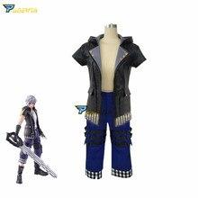 купить Game Kingdom Hearts 3 III Riku Cosplay Costume Uniform Outfit Custom Made Any Size недорого