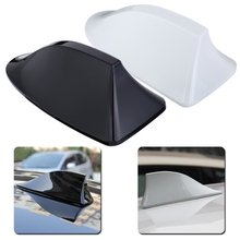 Car Radio Shark Fin Antenna Signal Auto Aerial for Toyota for Ford Automobiles Replacement Accessories Black White