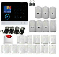 Yobang Security wifi GSM Alarm System TFT Android IOS APP Touch keypad Android ISO App Smart Home Burglar Alarm System DIY