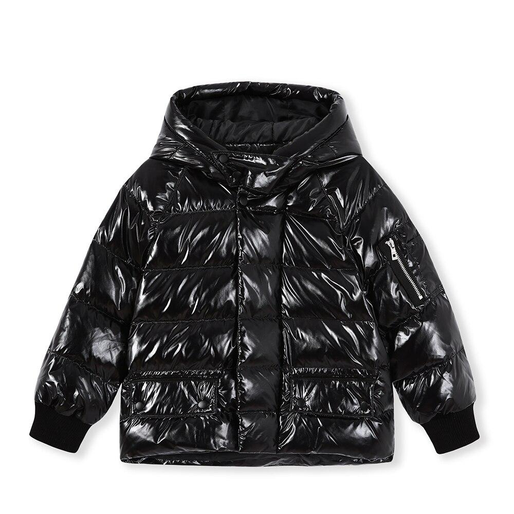 568da0bb9 🛒 Balabala Winter down Jacket For Boy Hooded Thicken Long Sleeve ...
