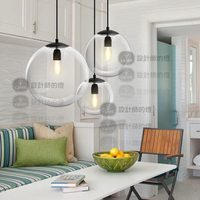 New modern ceiling hotel lamp Crystal ball pendant yc glass ball pendant light GY324