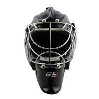 CE-ZULASSUNG Goalie Helm Cat Eye Torwart Gesicht Maske Schwarz mit Käfig eis hockey