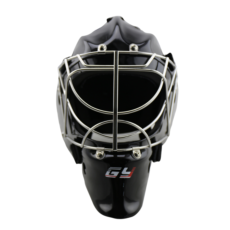 Goalie Helmet Cat Eye Goalkeeper Face Mask Black with Cage ice hockey триммер patriot pt 3355 imperial