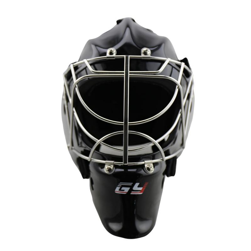Goalie Helmet Cat Eye Goalkeeper Face Mask Black with Cage ice hockey 2016 hot sale ice hockey helmet for player black full face mask