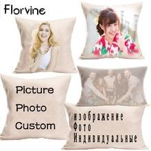 Customized Cushion Cover DIY Sequin Pillow Case Car Home Decor Cushions for Sofa Decorative Capa Almofada цена
